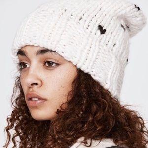 Rebecca Minkoff Heart Stitch Headphone Beanie Hat
